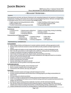 Restaurant Manager Resume Sample Examples Of Resume  Resume Examples  Pinterest  Resume Examples .