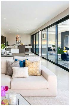 When Wideline stacking doors are opened they provide up to 4 meters of uninterrupted outdoor views, seamless transition from outside to in and flood your room with natural light and ventilation. www.wideline.com.au