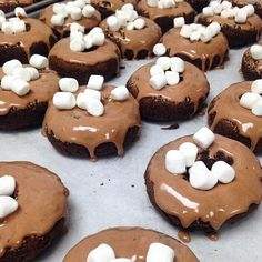Strange Dones -  Hot chocolate dones at both stores all weekend