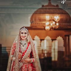 An epiphany from Real Brides Wearing Double Dupatta Lehnga to Exalt Your Nuptial Look! Wedding Photography Packages, Bride Photography, Photography Ideas, Wedding Film, Wedding Story, Wedding Dress, Bridal Poses, Bridal Portraits, Bollywood