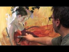 Hey Mom. Here is an amazing Time Lapse video of a painter painting. It's awesome. You can mute it if the song is too loud.