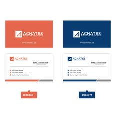 Looking for a flat design logo and business card layout for a consulting company…