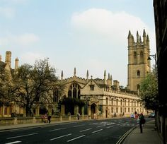 Oxford, England - Magdalen College. Oxford University