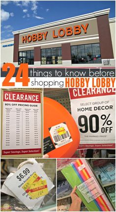 24 Hobby Lobby Savings Hacks You Need in Your Life Do you love to shop at Hobby Lobby? It's more than just a hobby lobby coupon! Here are 24 genius shopping tricks and tips to save you MORE money at Hobby Lobby! Hobby Lobby Sales, Hobby Lobby Coupon, Hobby Lobby Crafts, Hobby Lobby Decor, Hobby Lobby Discount, Hobby Lobby Website, Hobby Lobby Store, Hobbies For Couples, Cheap Hobbies