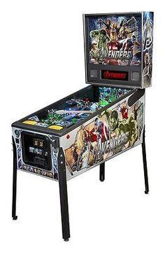 Stern Avengers Premium Pinball Machine with Shaker Motor
