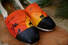 Lion King Custom TOMS Shoes by ArtisticSoles on Etsy, $139.00