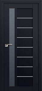 Milano-37U Black mat Interior Door