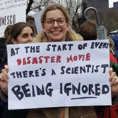 It's the 3 year anniversary of the March For Science. I Look To You, March For Science, Protest Signs, Nerd, Dc Memes, Funny Memes, Faith In Humanity, So True, True Stories