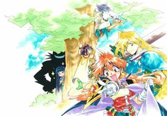 Slayers, by Hajime Kanzaka - Rui Araizumi