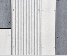 EQUITONE [linea] is a unique shaped, through-coloured facade material that plays with light and shadow. Linea displays a linear texture that highlights the raw inner texture of the core fibre cement material. Cladding Design, Exterior Cladding, Wall Cladding, Facade Design, Wall Design, Garage Exterior, Fibre Cement Cladding, Fiber Cement Board, Metal Facade