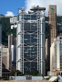 A classic: Hong Kong and Shanghai Bank by Foster + Partners #architecture
