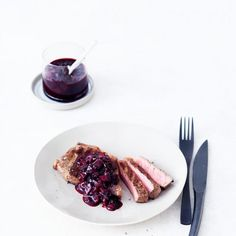Rezept: Holunderbeer-Rotwein-Sauce