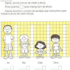 Hoeveel blokjes is ieder kind, maar dan met echte blokken en kinderen Preschool Math, Teaching Math, In Kindergarten, Math Resources, Math Activities, I Love School, Math Measurement, Math Numbers, 1st Grade Math