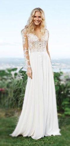 Wedding dress idea; Featured Dress: Lillian West