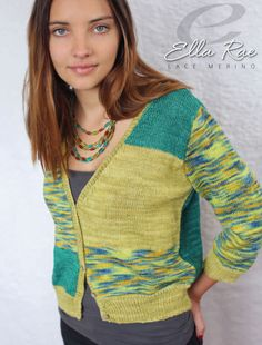 Elsie Cardigan in Ella Rae Lace Merino - ER18-02 - Downloadable PDF. Discover more patterns by Ella Rae at LoveKnitting. We stock patterns, yarn, needles and books from all of your favourite brands.