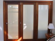 Image result for bifold timber doors