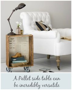 10 Ways To Upcycle Wooden Pallets