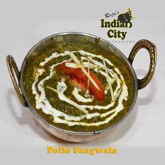 """¿Qué comemos hoy? Pues este miércoles de #receta en #RajusIndianCity os vamos a proponer """"Pollo Saagwala"""" , receta que incluye espinacas, energía extra para la vuelta al cole, al curro..."""