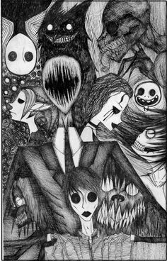 Creepypasta drawing