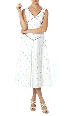 Gül Hurgel Polka Dot Midi Dress