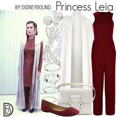 Disney Bound Princess Leia - Ideas of Star Wars Outfits - Disney Bound Princess Leia Disneybound Outfits, Disney Outfits, Disney Clothes, Disney Dresses, Casual Cosplay, Cosplay Outfits, Princess Leia Outfit, Disney Inspired Fashion, Disney Fashion