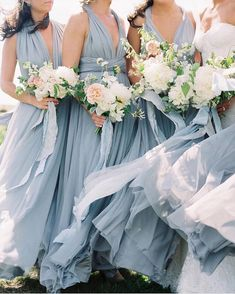 Elegant Bohemian Bridal Party with Blue Bridesmaid Dresses  https://heyweddinglady.com/made-with-love-stevie-styling-inspiration/    #wedding #weddings #weddingideas #weddinginspiration #bridesmaids #bridesmaiddresses #Bridalparty #bridalstyle #weddingfashion #weddingstyling #bohobride #bohemianweddings #fineartphotography