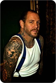 Mike Ness of Social Distortion. Yum.