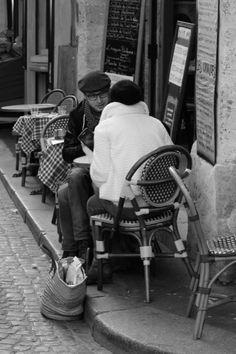 La Rue Mouffetard in Paris