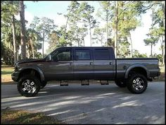 Ford Wow, do we call this the Super Duty Six Pack Super Crew Cab? For blended family camping trips...