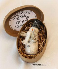 Make a snowman gift