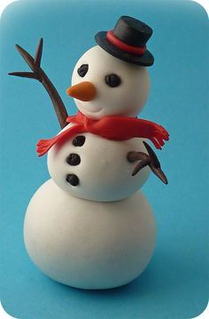 tutoriel bonhomme de neige