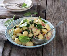 Diós rudacska (Nußstangl) Recept képpel - Mindmegette.hu - Receptek Dhal, Sorrento, Gnocchi, Potato Salad, Bacon, Potatoes, Pasta, Ethnic Recipes, Food