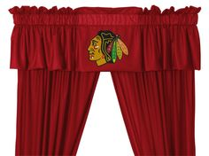 Chicago Blackhawks Valance