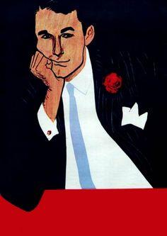 René Gruau, 1962.