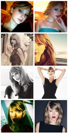 Past Taylor Swift twitter icons