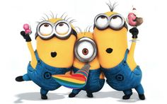 """Start your day from these """"Top Minion Friday Quotes"""" because it will make your day happy and also funny.So scroll down and keep reading these """"Top Minion Friday Quotes"""". Cute Minions, Minions Despicable Me, My Minion, Funny Minion, Minion Party, Minion Rush, Minion Banana, Minion Friday, Girl Minion"""