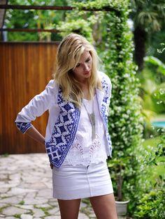 Chaquetas bordadas. Un MUST de temporada.  #Fashion #Look #ModaFalabella