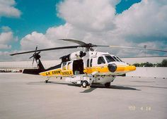 Los Angeles County Fire Dept. Blackhawk helicopter by AWarc, via Flickr