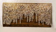 New York skyline - String Art