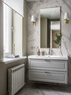 МЕТРАЖ: 70 м2  ДИЗАЙН: ЖАННА НАВОЛОЦКАЯ Vanity, Bathroom, Painted Makeup Vanity, Washroom, Lowboy, Dressing Tables, Bath Room, Bathrooms, Single Vanities