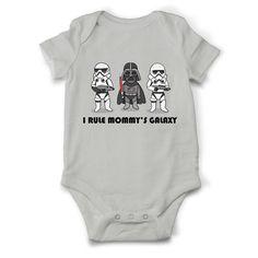 Star wars Baby boy onesie Mommy's Galaxy, Star Wars onesie, Jedi baby clothes, Star wars baby outfit, Baby shower gift, Star wars boy shirt by OldCauldronGifts on Etsy