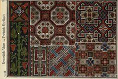 Cross Stitch Boarders, Cross Stitch Love, Cross Stitch Charts, Cross Stitch Patterns, Embroidery Sampler, Cross Stitch Embroidery, Loom Beading, Repeating Patterns, Knitting Projects