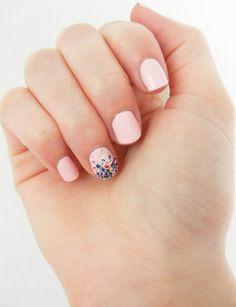 Ombre nail art with Ciate Caviar Nail Polish