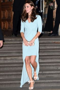 Kate Middleton Wows In A Split Layer Jenny Packham Dress At The Wildlife Photographer Of The Year Awards, 2014