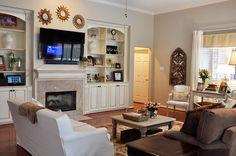 Living room paint color ideas valspar fireplaces 15 ideas for 2019 Basement Paint Colors, Room Paint Colors, Paint Colors For Living Room, Living Room Decor, Wall Colors, Living Rooms, Shed Decor, Home Decor, Favorite Paint Colors