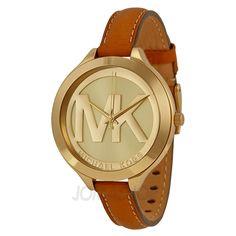 fdfa42de2f3 Michael Kors Slim Runway Champagne Dial Ladies Watch MK2326