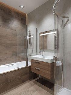 26 Ideas bathroom design wood tile tubs for 2019 Wood Tile Shower, Wood Bathroom, Small Bathroom, Tub Tile, Bathroom Ideas, Shower Tub, Master Bathroom, Wood Tub, Serene Bathroom