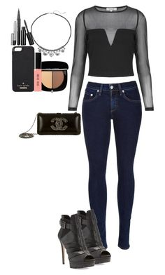 classy casual by washedupandburnedout on Polyvore featuring Topshop, rag & bone, BCBGMAXAZRIA, Chanel, Chaps, Kate Spade, Marc Jacobs and Bobbi Brown Cosmetics