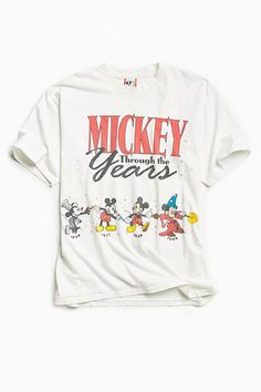 Vintage Disney Mickey Mouse Years Tee Vintage Shops 88f3df3e2