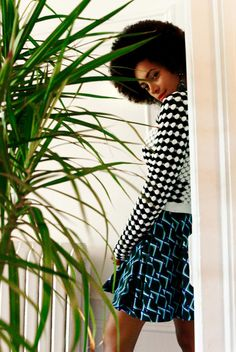 Solange – Musician Solange Knowles poses for Elle Muliarchyk's lens in the latest issue of Rika Magazine. Solange models at her home, wearing funky looks courtesy of stylist Jenke-Ahmed Tailly with hair and makeup by Nikki Helms and Munemi Imai.